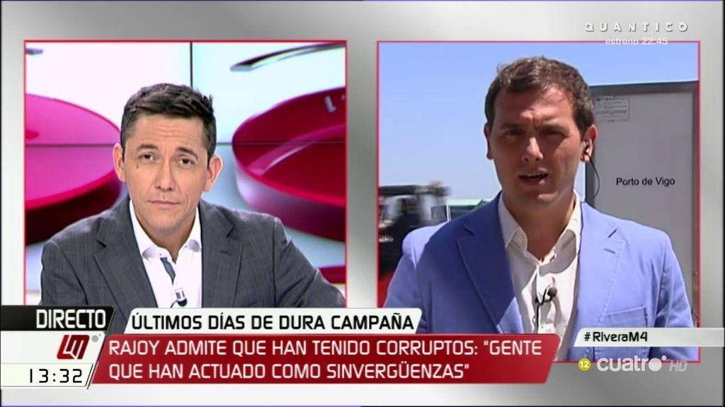 La entrevista a Rivera, a la carta