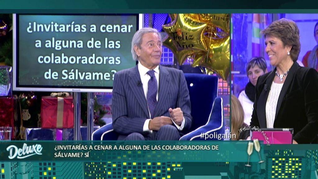 "Arturo Fernández, a Gema López: ""Me desequilibran bastante tus piernas"""