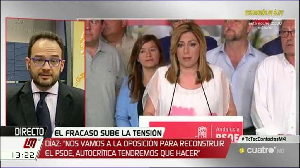 Antonio Hernando niega que haya guerra interna en el PSOE