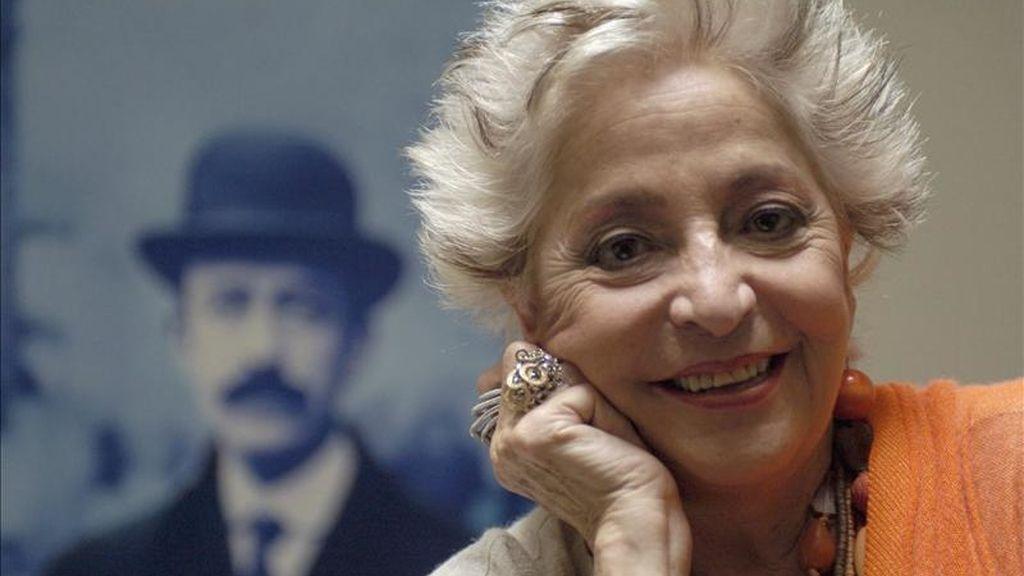 La mezzosoprano Teresa Berganza. EFE/Archivo