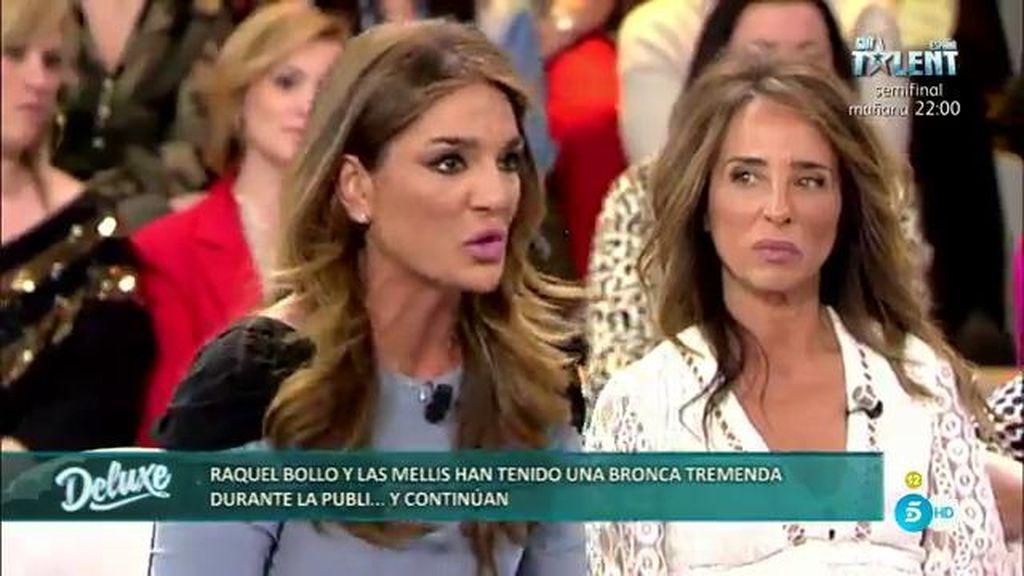 """Raquel, explota contra las Mellis: """"Estoy harta de ser la diana, no soy vuestro problema"""""""