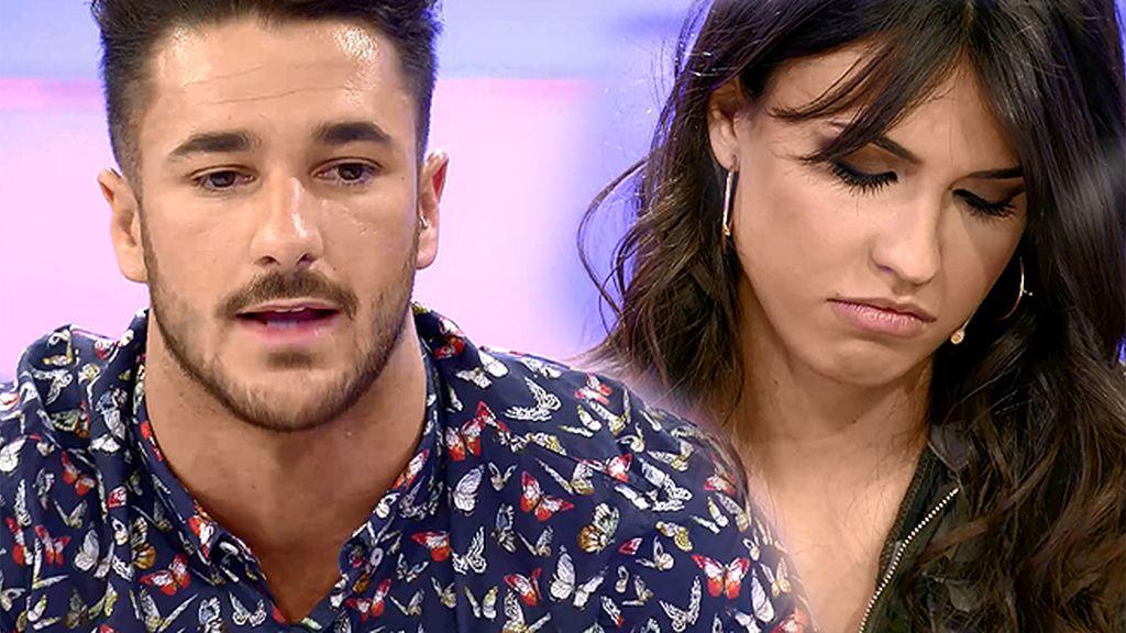"""Sofía, a Hugo: """"Me estás mintiendo"""""""