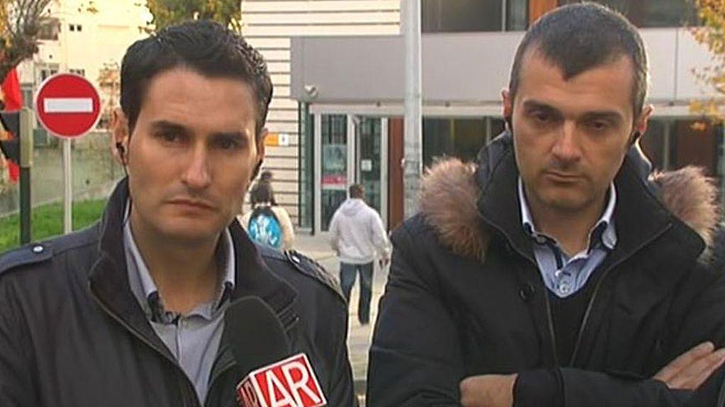 """González, portavoz del SUP Galicia: """"Ningún policía tiene chaleco antibalas propio"""""""