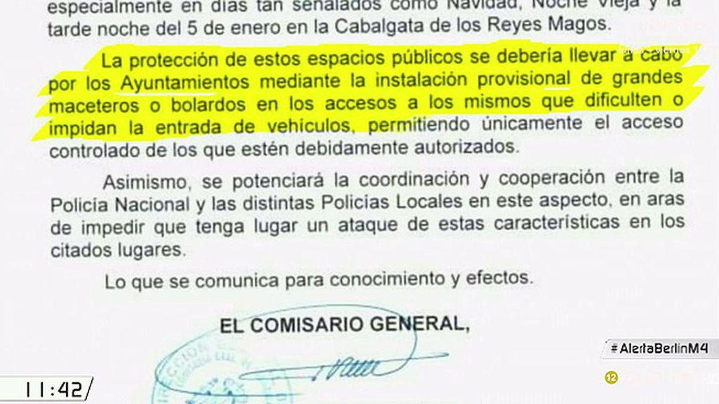 La Comisaría de Seguridad Ciudadana ordena reforzar seguridad en mercadillos y espacios sensibles