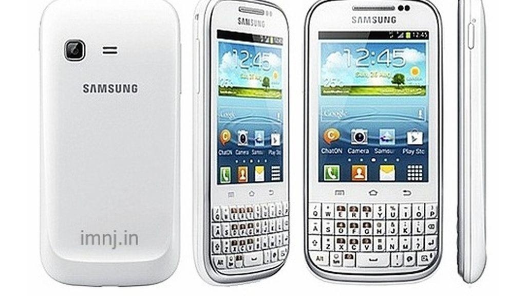 Samsung Galaxy Chat, smartphones,