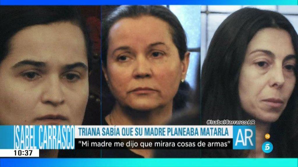 Montserrat González, Triana Martínez y Raquel Gago, así afrontan el juicio