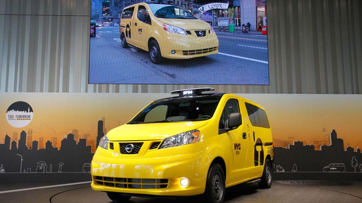 Nissan presenta los nuevos taxis de Nueva York