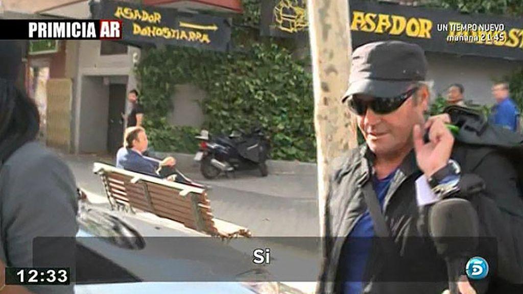 Amador Mohedano descarta mantener una conversación con su Rosa Benito