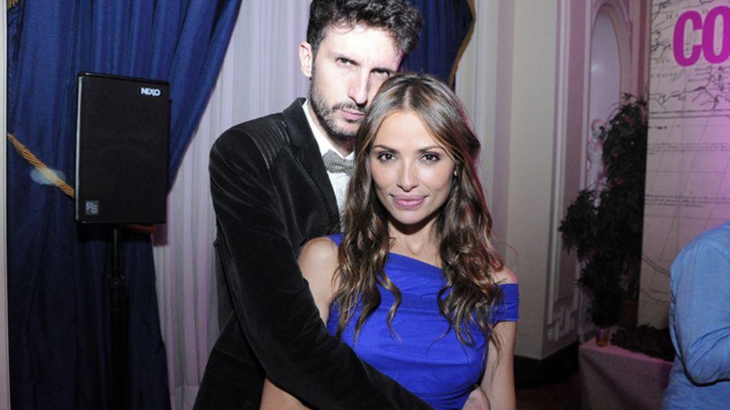 Txema Mirón y la Top Model Almudena Fernández