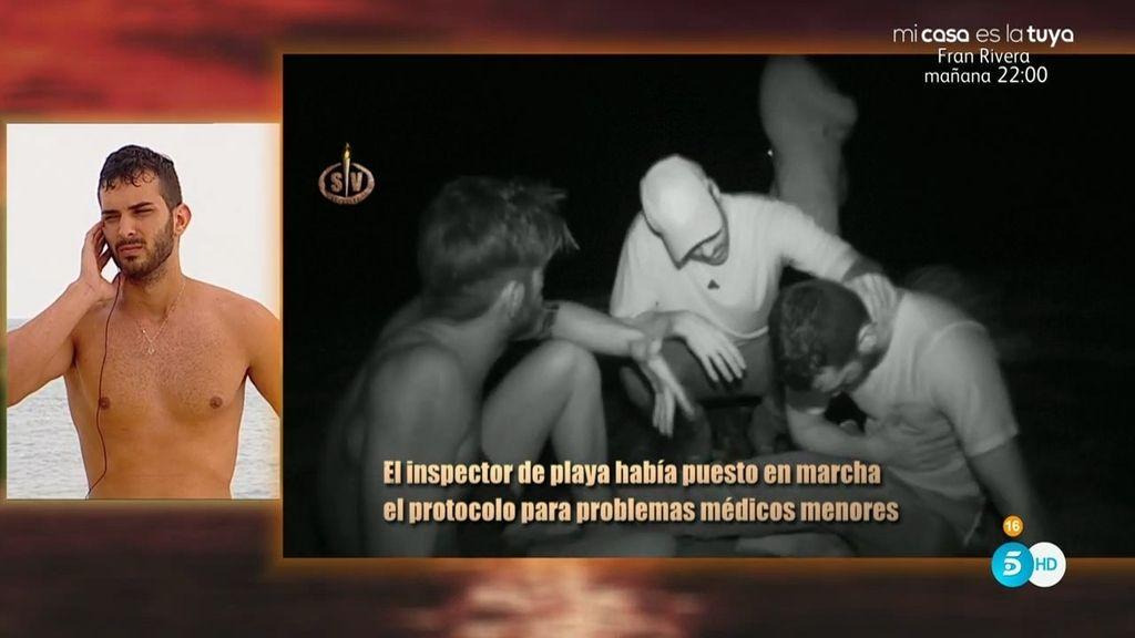 """Carla y Jorge ponen más nervioso a Suso en su malestar: """"Estoy perdiendo la vista"""""""