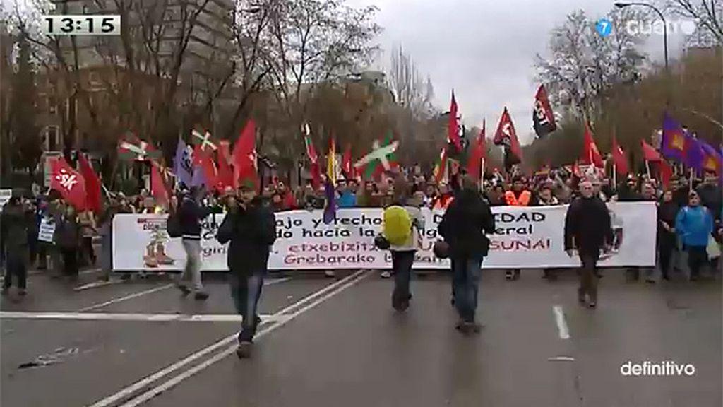 17 detenidos tras las 'Marchas de la dignidad'