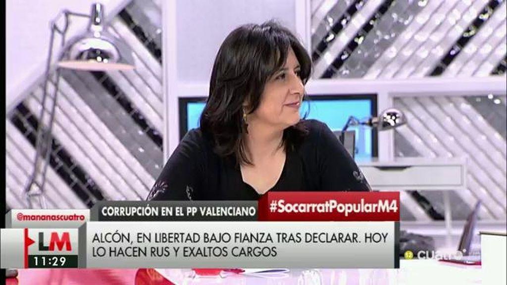 """Rosa Pérez, de la Operación Taula: """"Han pagado sus consecuencias políticas y ahora vienen las penales"""""""