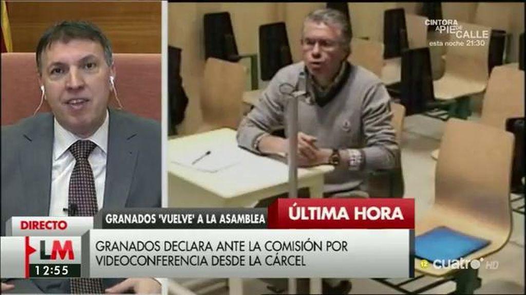 """Juez Bosch: """"Si el juez mantiene la prisión provisional a Granados es porque considera que puede haber riesgo de fuga"""""""