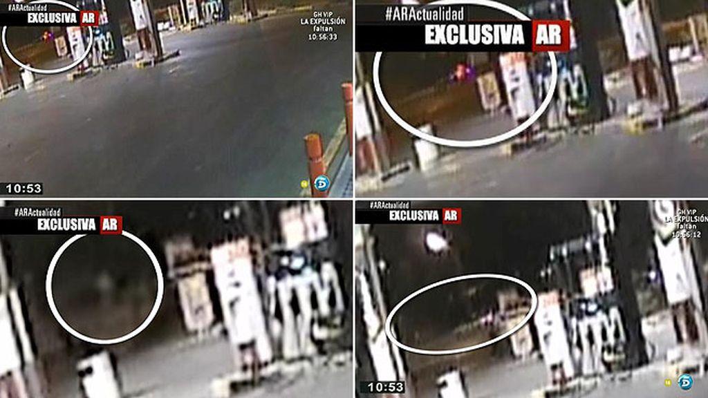 Las imágenes de la gasolinera situada donde el pederasta de Ciudad Lineal dejó a una de sus víctimas, en exclusiva