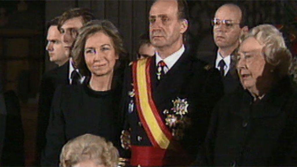 Don Juan Carlos, las lágrimas de un hijo