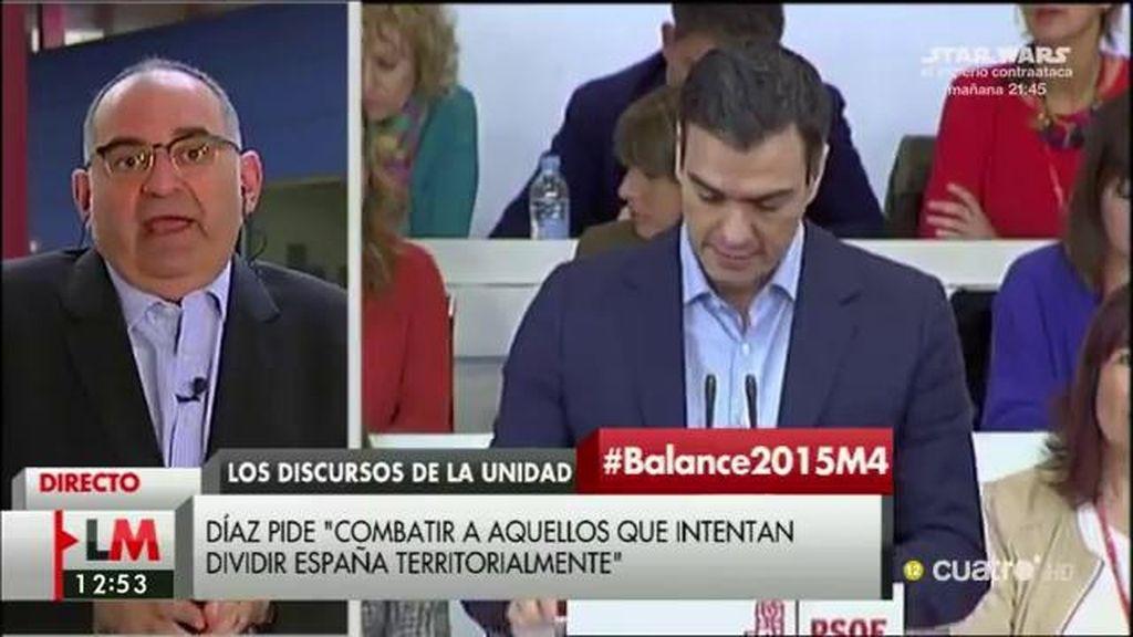 """Antón Losada: """"El PSOE se ha convertido en una gigantesca reunión de cuñados"""""""