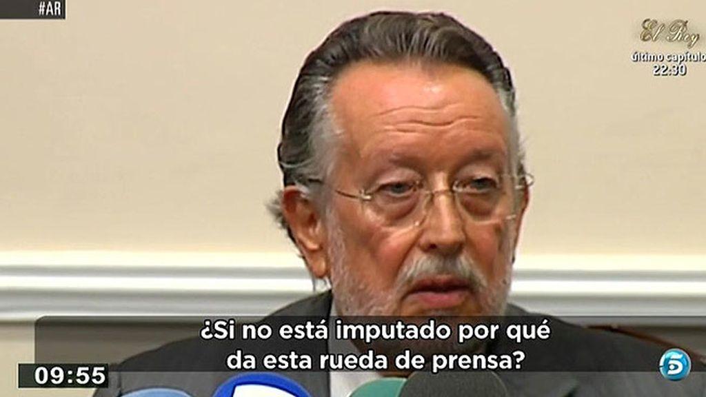 Alfonso Grau se niega a dimitir