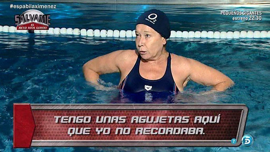 """Mila Ximénez: """"Ahora hago el reto porque me da la gana, porque me siento bien"""""""