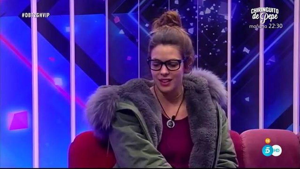 """Laura Matamoros, sobre Javier: """"Va teledirigido por Fran, no tiene personalidad"""""""