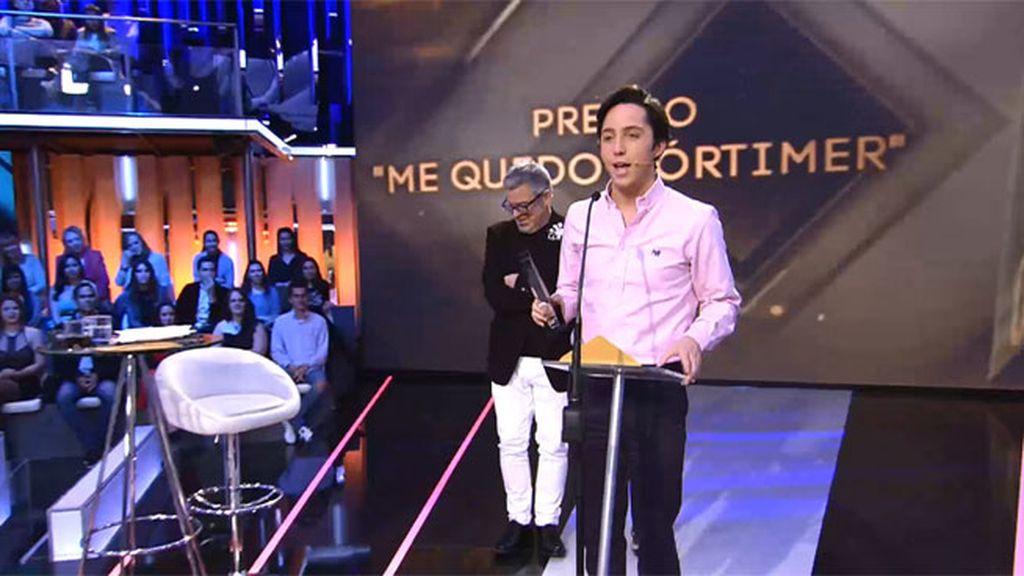 Fran Nicolás, el ganador del premio por protagonizar el momentazo de esta edición