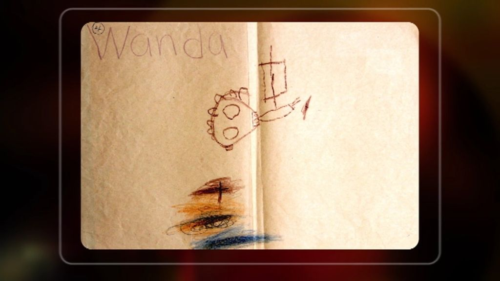 Profecías dibujadas: Clara Tohoces analiza dibujos infantiles previos a la tormenta Isabel