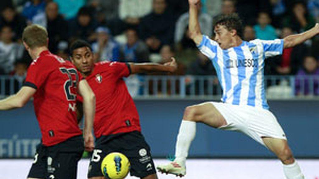 Málaga y Osasuna firman tablas FOTO: EFE
