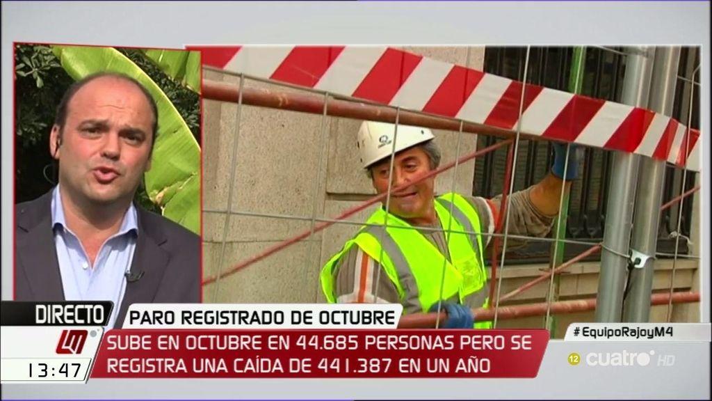 """José Carlos Díez: """"A pesar de la recuperación, los empleos temporales aumentan"""""""