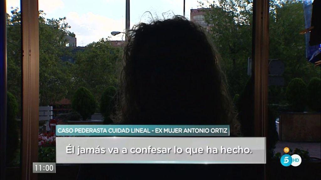 """Exmujer de Antonio Ortiz: """"Va a volver a hacer lo mismo cuando salga de la cárcel"""""""
