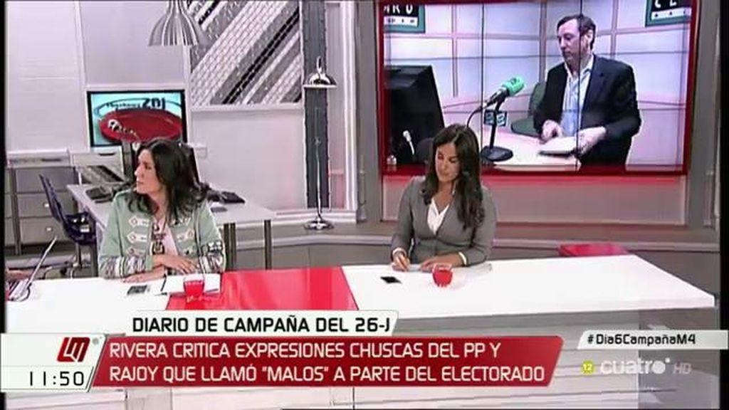 "Begoña Villacís, de Rafael Hernando: ""Es un maleducado, un faltón"""