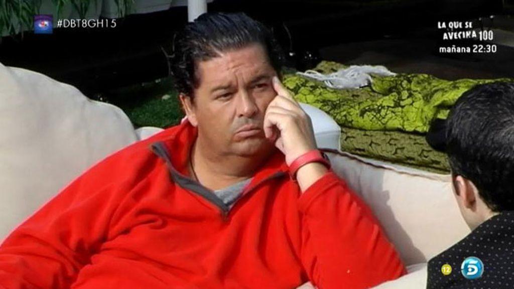 """Luis, a Fran: """"No te puedes decepcionar con Paula cuando tú nunca te has llevado bien"""""""