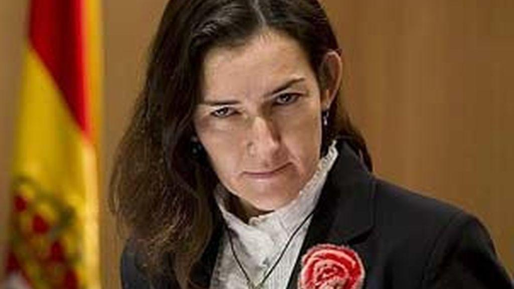 La ministra de Cultura, Ángeles González-Sinde, en una imagen de archivo. Foto: EFE