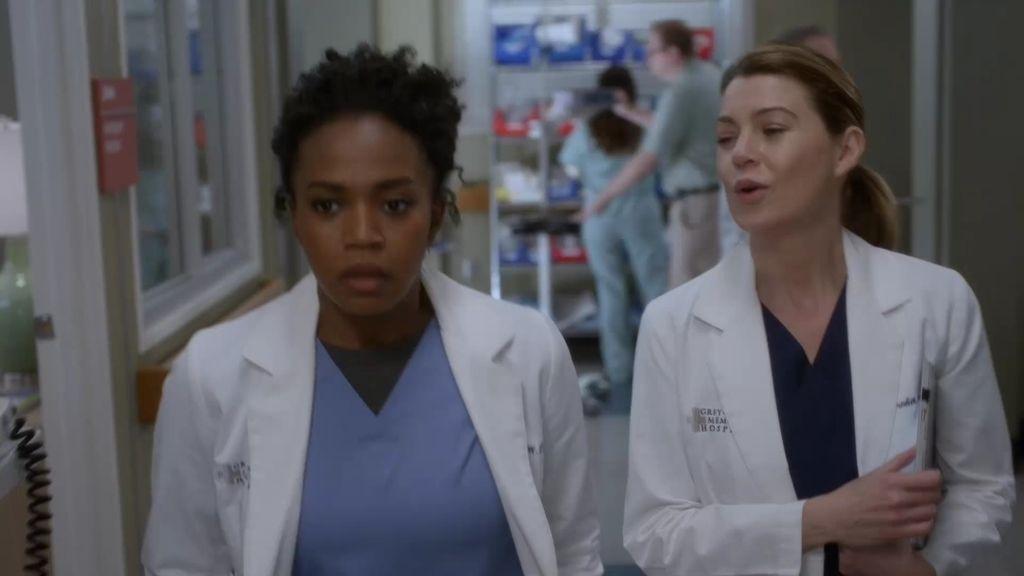 Meredith Grey recibe un mensaje muy 'caliente' de la doctora Stephanie