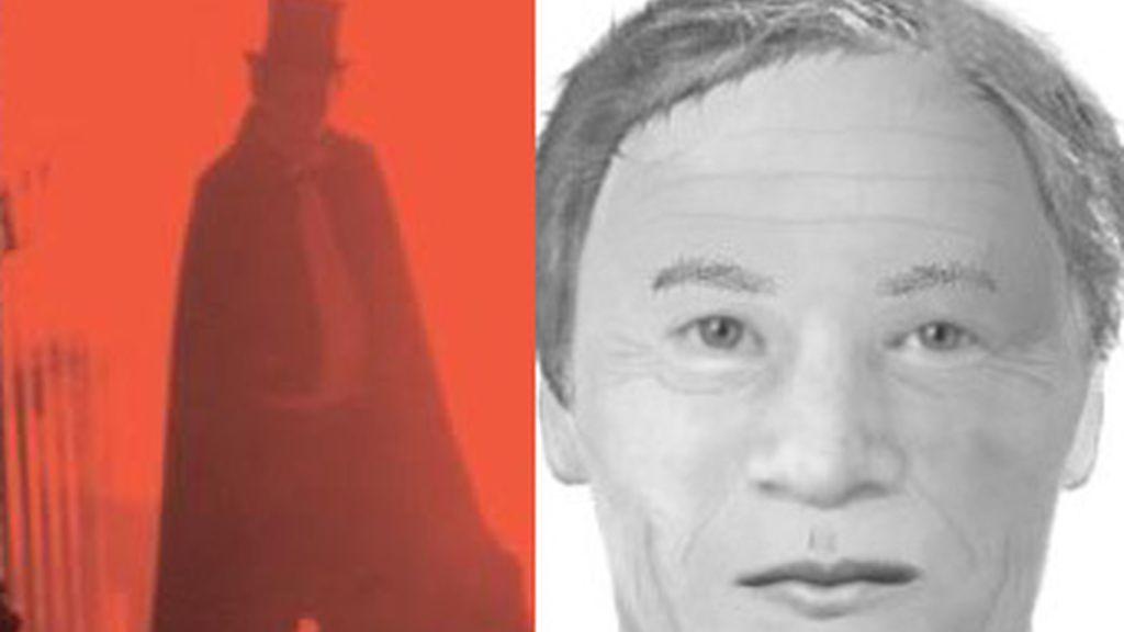 ¿Es este el rostro de 'Jack el destripador'? Para el investigador de homicidios Trevor Mariott sí. Cree que Carl Feigenbaum, un comerciante de origen alemán, es el verdadero asesino en serie. Este es su retrato robot. Foto BBC