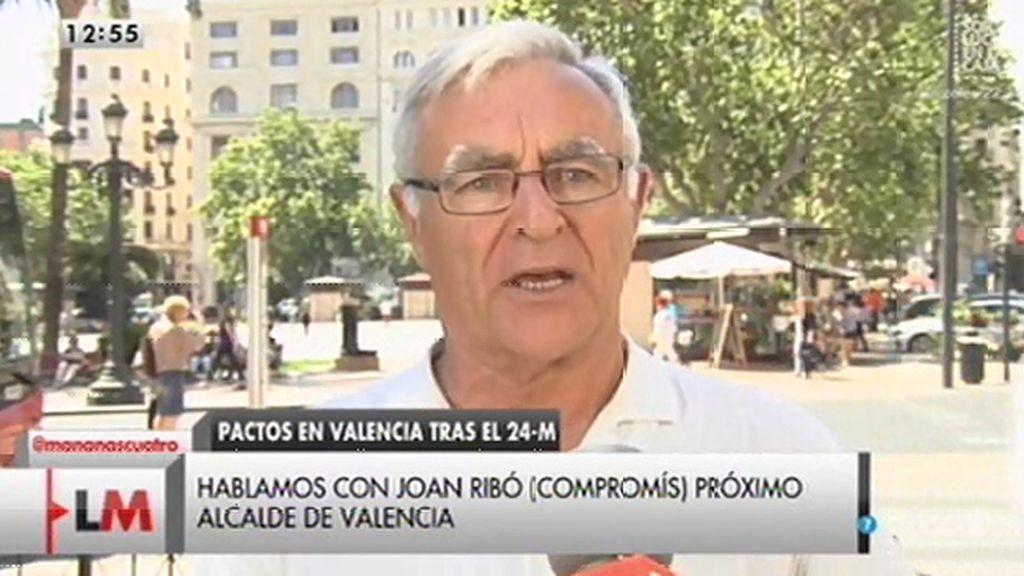 Joan Ribó niega que Compromís vaya a prohibir los toros en Valencia pero sí afirma que no los subvencionará