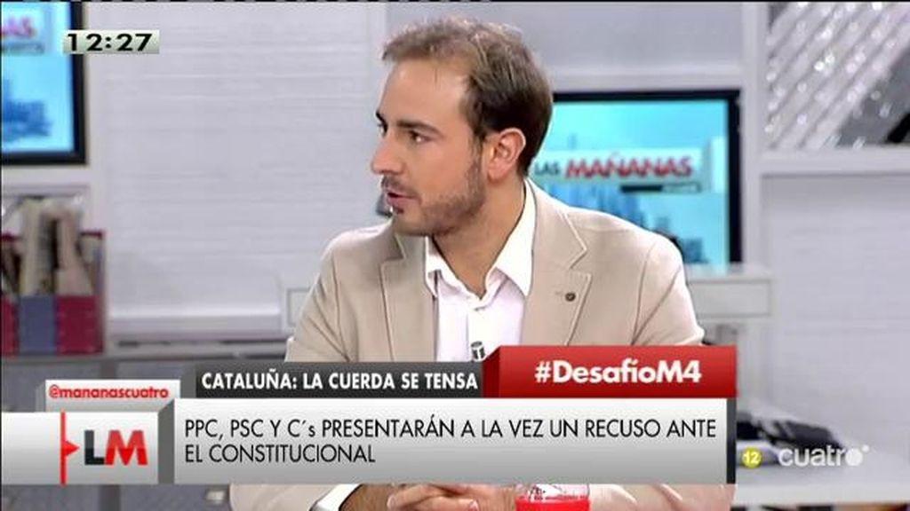 """Javier Dorado: """"Quienes quieren retorcer las leyes para no cumplirlas no son demócratas, son tiranos"""""""
