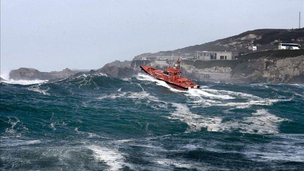 Una embarcación de Salvamento Marítimo. EFE/Archivo