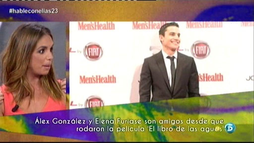 Elena Furiase comienza una cadena de invitados y 'reta' a Álex González