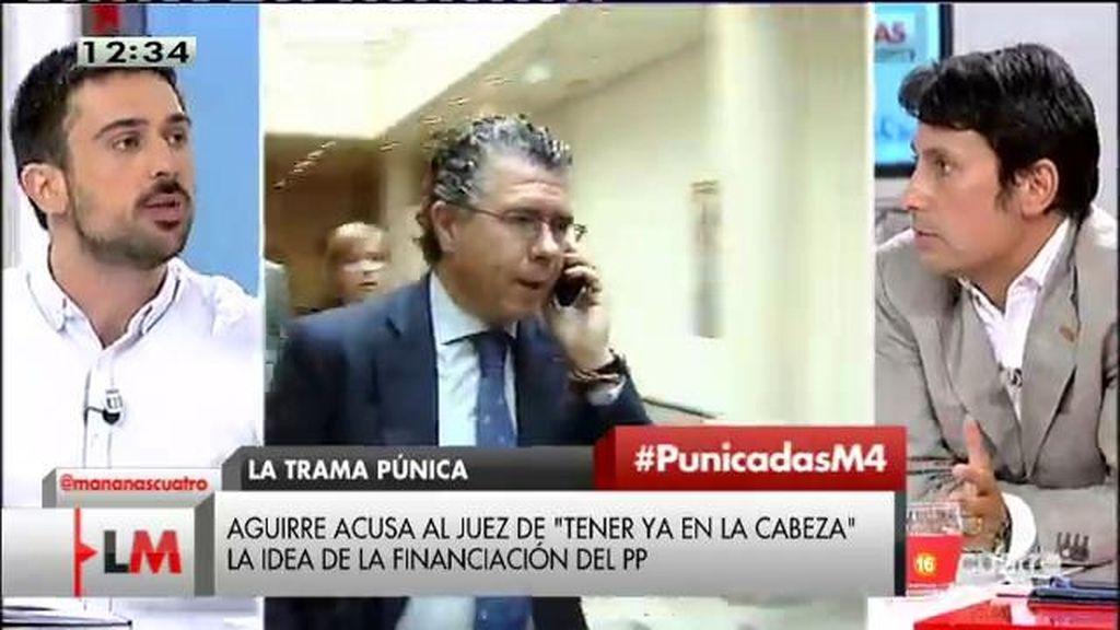 """Ramón Espinar: """"El dinero que se transfiere del bolsillo de la gente al de los corruptores es una barbaridad"""""""
