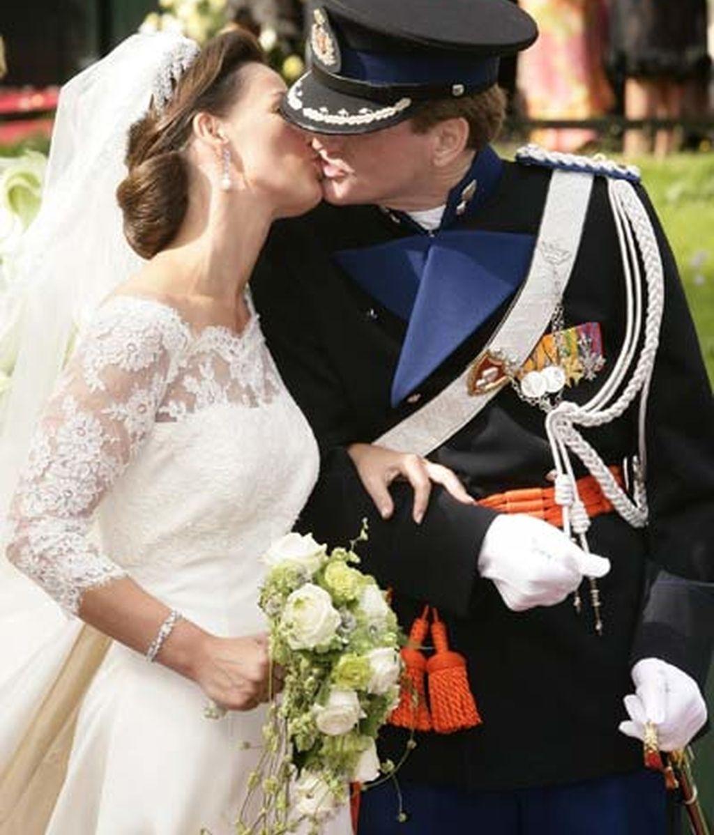 El príncipe Pieter Christian de Holanda y Anita Van Eijk