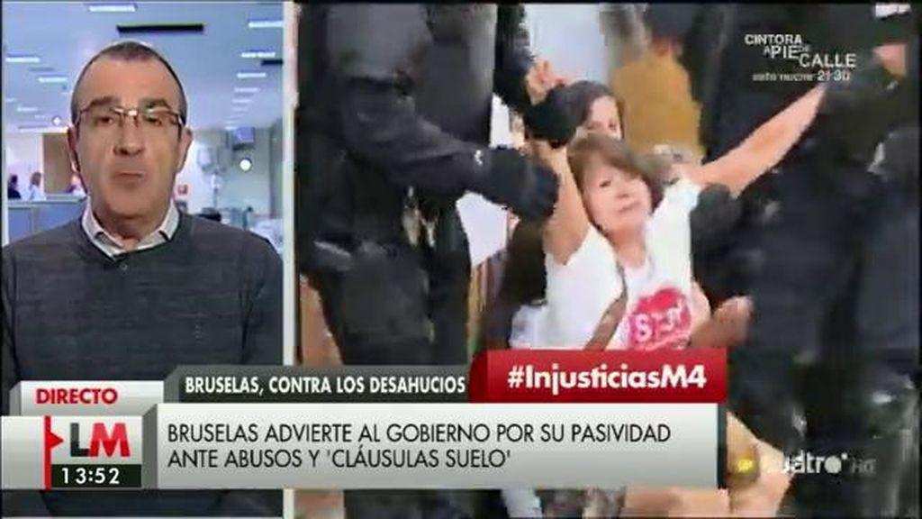 """Juan Pedro Yllanes: """"El gobierno ha tenido tiempo de sobra para acabar con los abusos de la banca"""""""