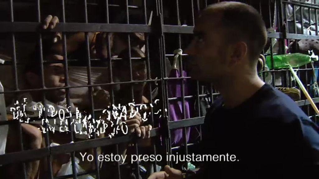"""Los detenidos en Sucre se quejan: """"Los derechos humanos no existen aquí"""""""