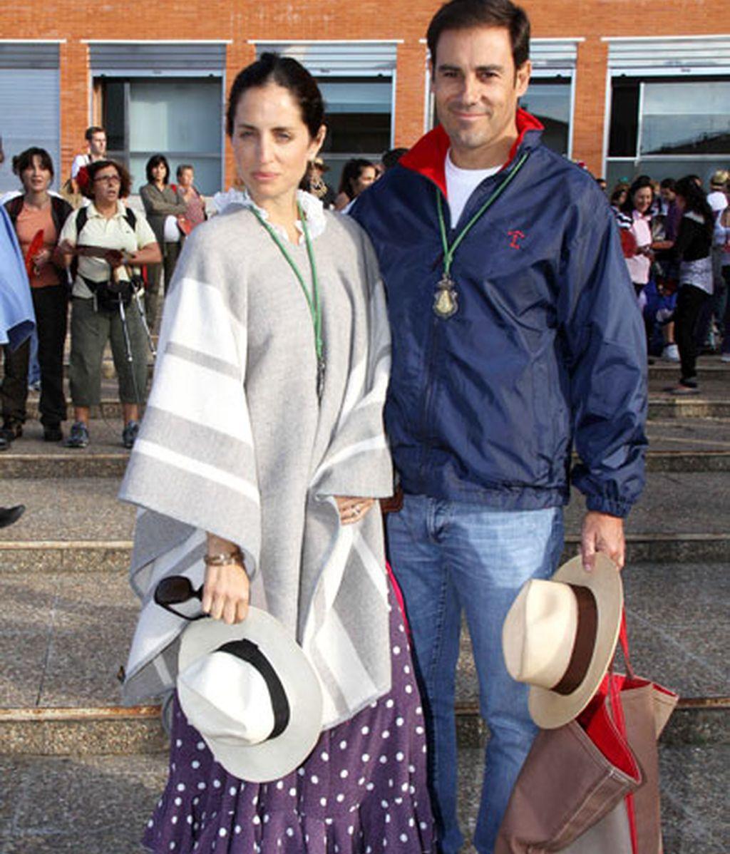 Adriana Carolina Herrera y Miguel Baez 'Litri'