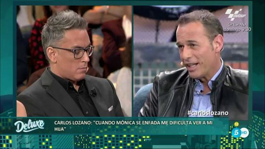 Mónica Hoyos arremete duramente contra Carlos Lozano durante su entrevista