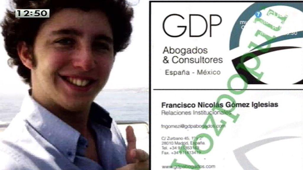 El 'pequeño Nicolás' decía representar a un bufete que intermedia operaciones entre México y España, según Vozpopuli.com