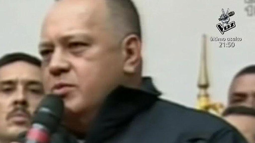 """Cabello, investigado por narcotráfico: """"Los que me acusan que presenten una prueba"""""""