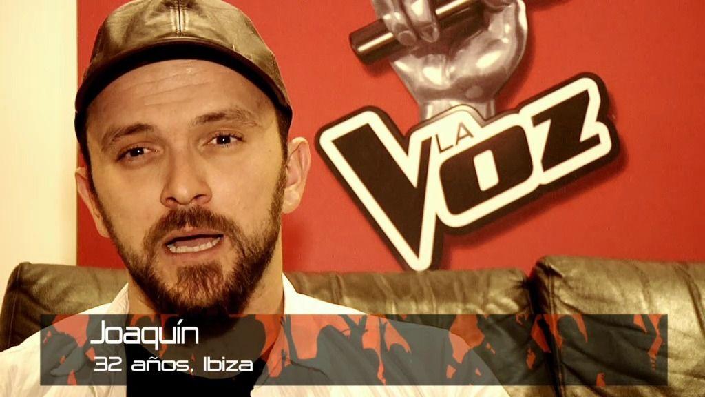 """Joaquín: """"Voy a contarle a todo el mundo que estoy en 'La Voz"""""""