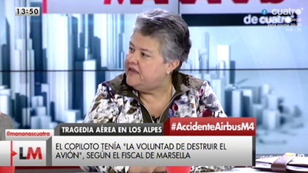 """Pilar Vera: """"Es una vergüenza que las familias se enteren así"""""""