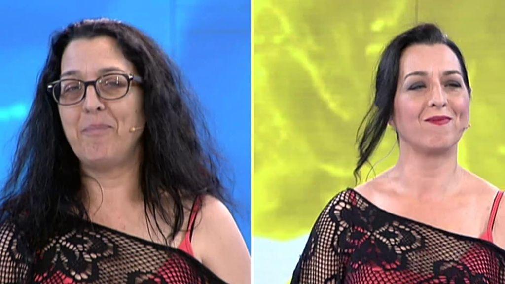 Mª Ángeles rejuvenece gracias al cambio instantáneo de Natalia