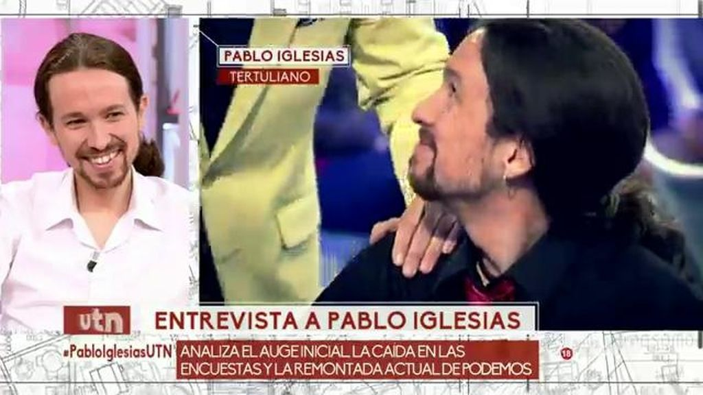 El fin de los piercings pero no de la coleta: así ha cambiado Pablo Iglesias