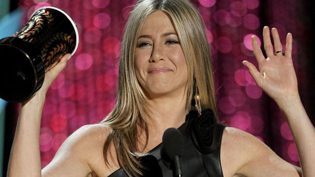 Jennifer Aniston recibe el premio a la villana del año